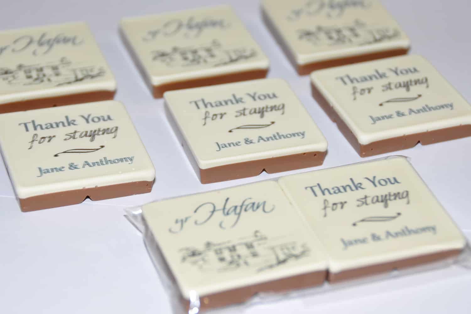Printed Chocolate for Hotels