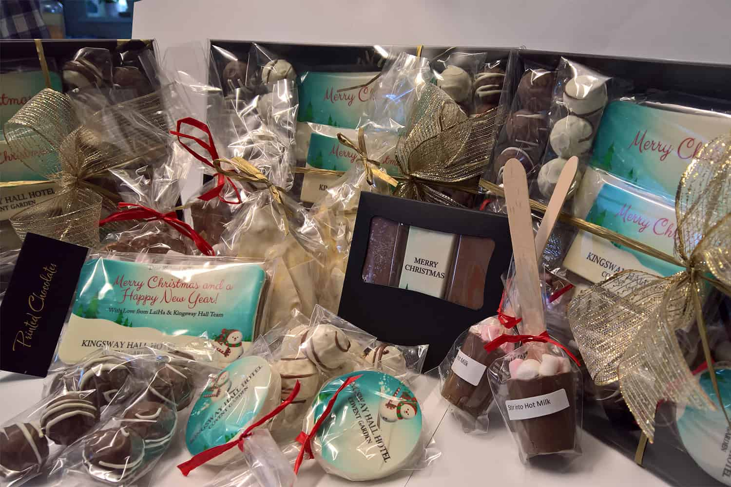 Corporate Printed Chocolates for Gifts
