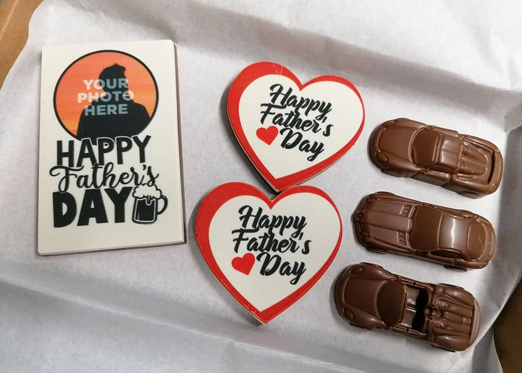 Father's Day Printed Chocolates