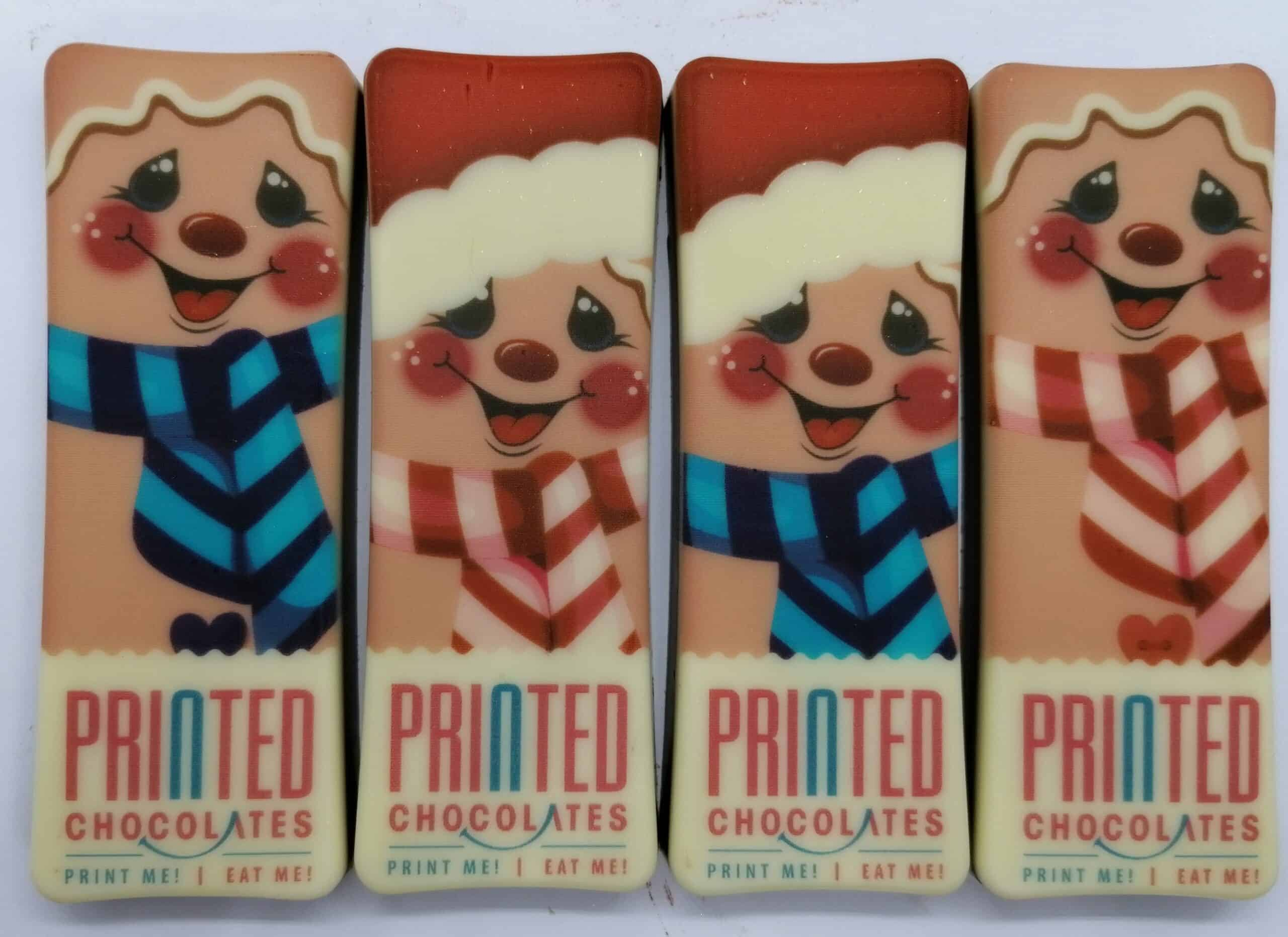 3 Rectangle Chocolate Bars - Boxed