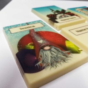 Christmas Gnome Chocolate Card