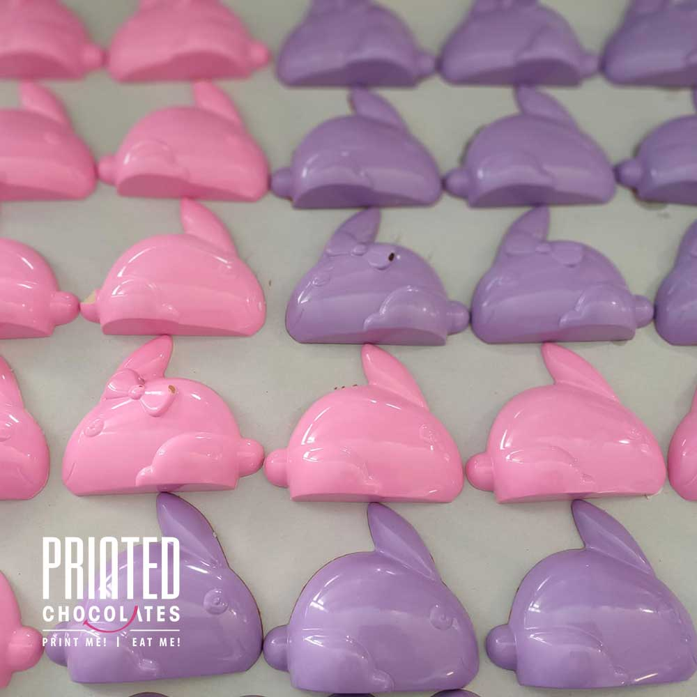 Filled Bunny - Purple (Biscoff)
